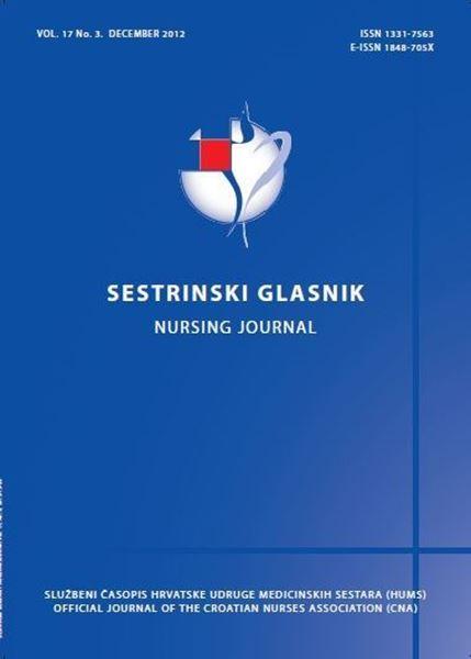 Picture of SESTRINSKI GLASNIK / NURSING JOURNAL